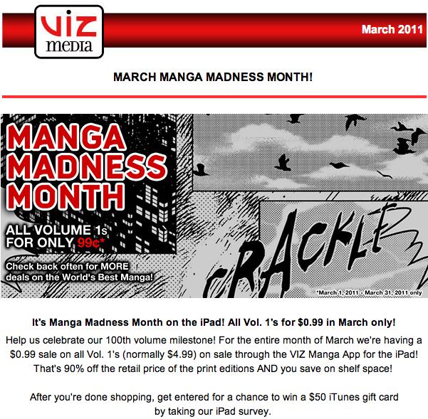 Viz Manga Madness Month