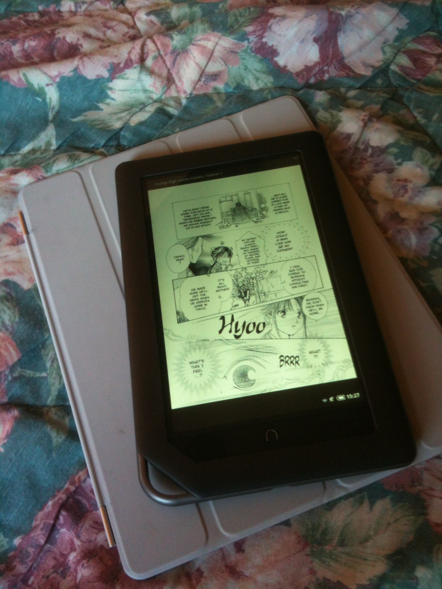 Reading Manga On The Nook Color